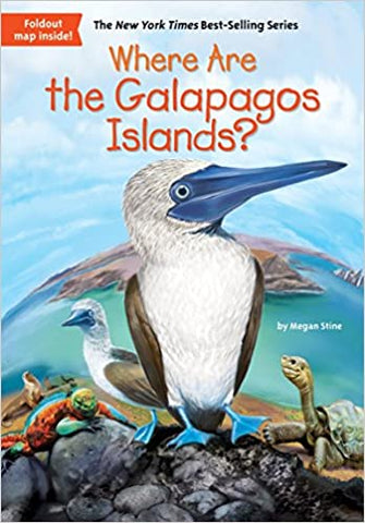Where Are the Galapagos Islands? - Paperback - Kool Skool The Bookstore