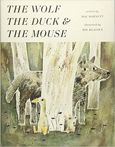 The Wolf, the Duck and the Mouse - Hardback - Kool Skool The Bookstore