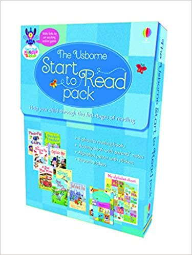 The Usborne Start to read pack - Kool Skool The Bookstore