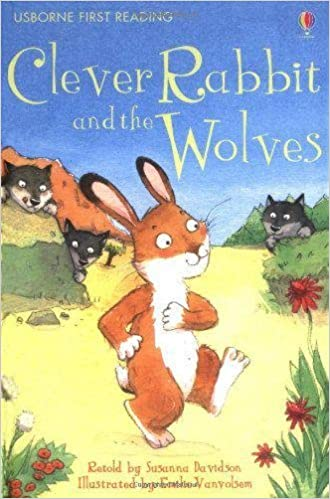 Usborne First Reading Level 2 : Clever Rabbit and the Wolves - Kool Skool The Bookstore