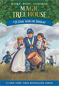 Magic Tree House #21 : Civil War on Sunday - Paperback - Kool Skool The Bookstore