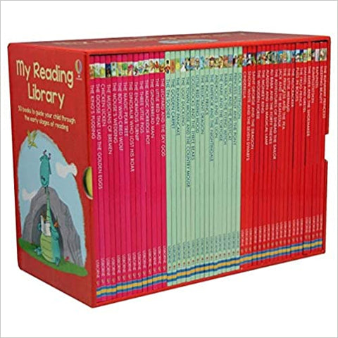 Usborne My Reading Library Box Set of 50 Books - Kool Skool The Bookstore
