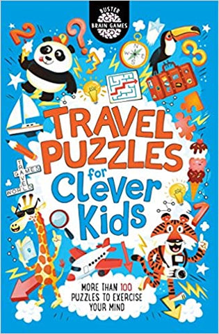 Travel Puzzles for Clever Kids - Kool Skool The Bookstore