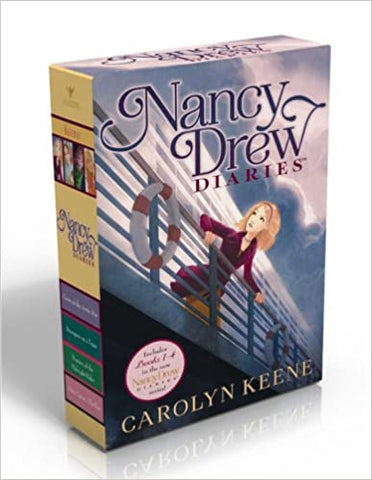 Nancy Drew Diaries Box Set ( set of 4 books 1-4) - Kool Skool The Bookstore