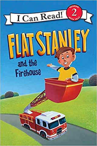 I Can Read Level 2 : Flat Stanley and the Firehouse - Kool Skool The Bookstore