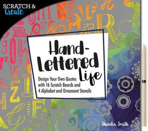 cratch & Create: Hand-Lettered Life - Kool Skool The Bookstore