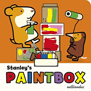 Stanley's Paintbox - Board Book