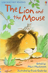 Usborne First Reading Level 1 : The Lion & the Mouse - Kool Skool The Bookstore