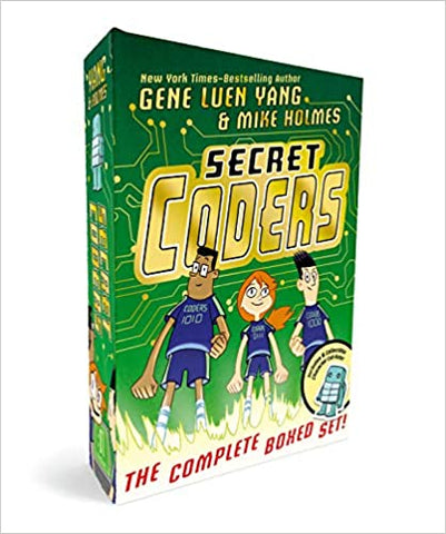 Secret Coders: The Complete Boxed Set of 6 books - Kool Skool The Bookstore