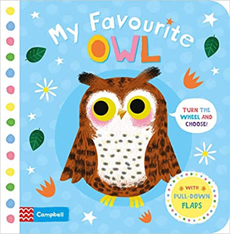 My Favourite Owl Board book - Kool Skool The Bookstore