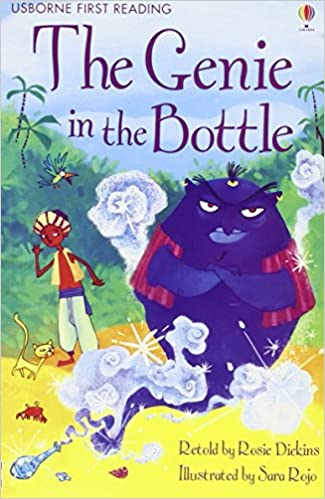 Usborne First Reading Level 2 : The Genie in the Bottle - Kool Skool The Bookstore
