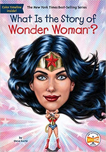 What Is The Story of Wonder Woman? - Paperback - Kool Skool The Bookstore