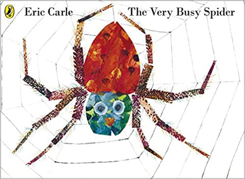 Eric Carle : The Very Busy Spider - Kool Skool The Bookstore
