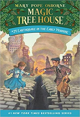 Magic Tree House 24 : Earthquake in the Early Morning - Kool Skool The Bookstore