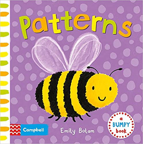 Patterns (Bumpy Books) Board book - Kool Skool The Bookstore