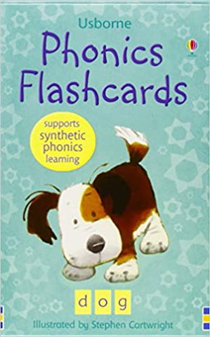 Usborne : Phonics Flash Cards - Kool Skool The Bookstore
