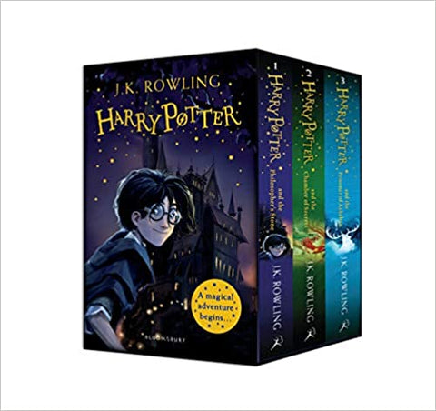 Harry Potter 1-3 Box Set: A Magical Adventure Begins - Kool Skool The Bookstore