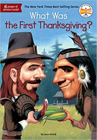 What Was The First Thanksgiving? - Paperback - Kool Skool The Bookstore
