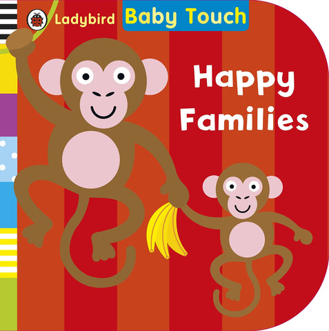 Baby Touch : Happy Families - Boardbook