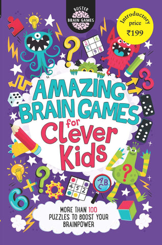 Amazing Brain Games for Clever Kids - Paperback