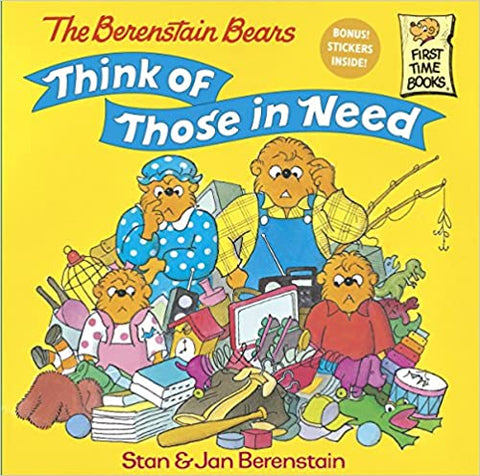 The Berenstain Bears Think of Those in Need - Kool Skool The Bookstore