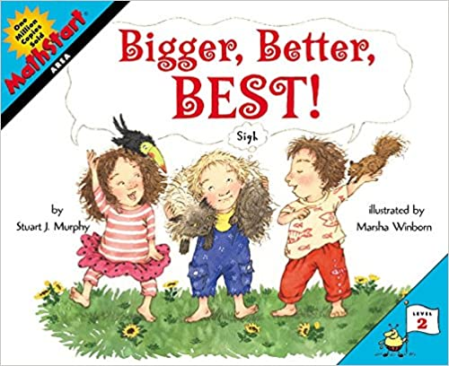 Mathstart Lev-2 : Bigger, Better, Best! - Kool Skool The Bookstore