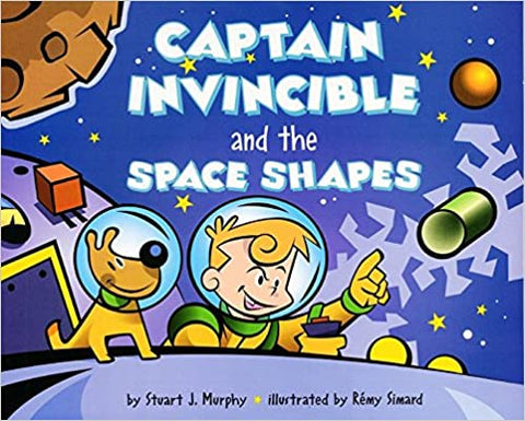 Mathstart Lev-2 : Captain Invincible and the Space Shapes - Kool Skool The Bookstore
