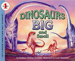 Let's Read and Find Out Science lev-1 : Dinosaurs Big and Small - Kool Skool The Bookstore