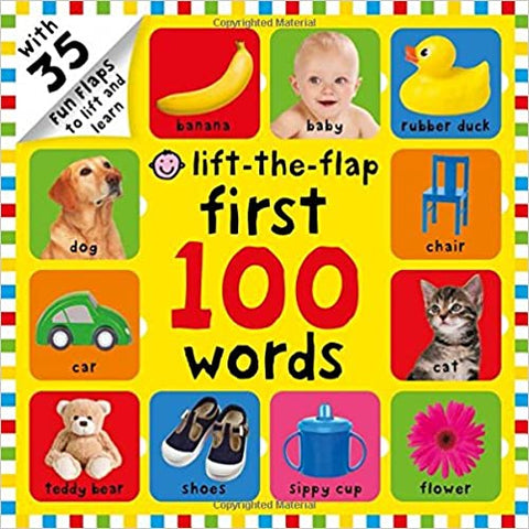 Priddy Books : Lift the Flap First 100 Words - Kool Skool The Bookstore