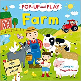 Pop-up and Play Farm: A pop-up book! - Kool Skool The Bookstore