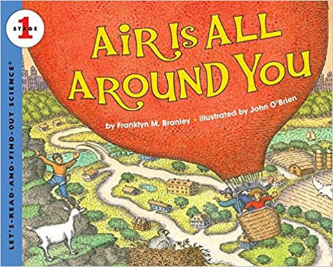Let's Read and Find Out Science Lvl 1 : Air is all Around you - Kool Skool The Bookstore