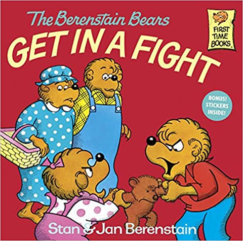 THE BERENSTAIN BEARS GET IN A FIGHT - Kool Skool The Bookstore