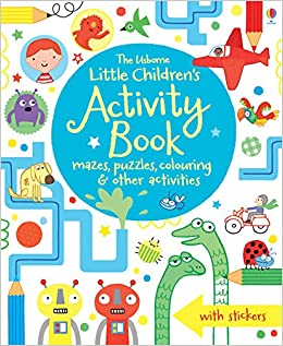 The Usborne Little Children's Activity Book - Kool Skool The Bookstore