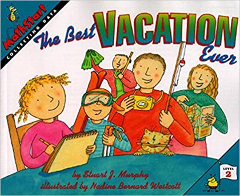 Mathstart Lev-2 : The best Vacation Ever - Kool Skool The Bookstore