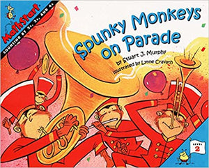 Mathstart Lev-2 : Spunky Monkeys on Parade - Kool Skool The Bookstore