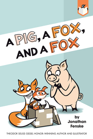 A Pig, a Fox, and a Fox - Paperback