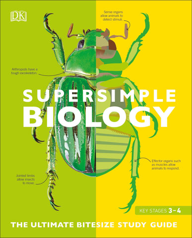 DK : Super Simple Biology: The Ultimate Bitesize Study Guide - Paperback