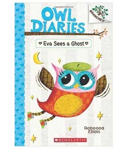 Owl Diaries 2 : Eva Sees a Ghost - Paperback