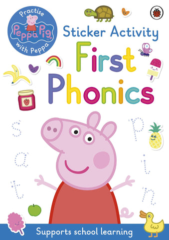 Peppa Pig: First Phonics: Sticker Activity Book - Paperback
