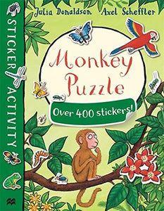 Monkey Puzzle Sticker Book - Paperback - Kool Skool The Bookstore