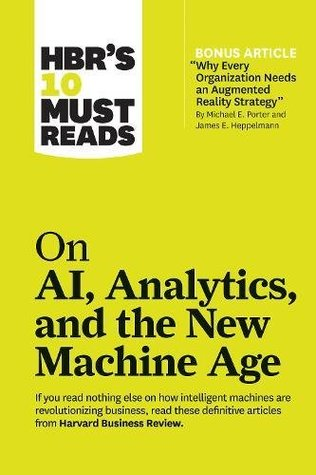 HBRS 10 MUST READS : ON AI ANALYTICS AND THE NEW M - Kool Skool The Bookstore