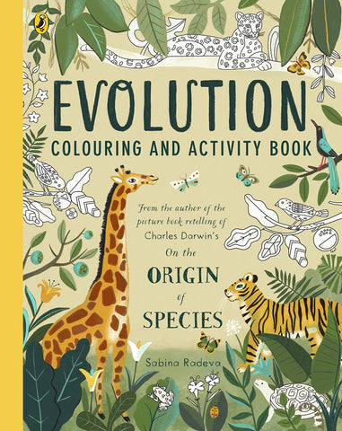 Evolution Colouring and Activity Book - Paperback