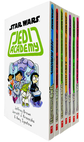 Star Wars Jedi Academy Series 7 Books Collection Set  - Paperback