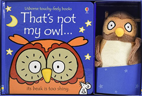 That's Not My Owl Book And Toy