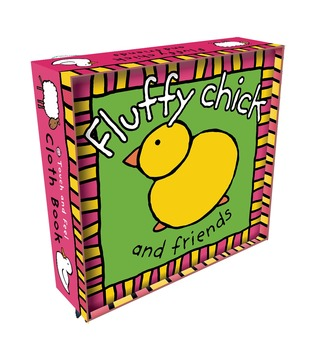 Fluffy Chick Cloth Book