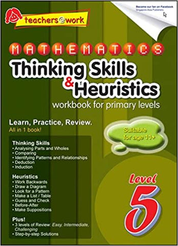SAP Mathematics Thinking Skills & Heuristics Primary 5 - Kool Skool The Bookstore