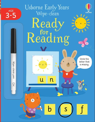 Early Years Wipe - Clean Ready for Reading - Paperback