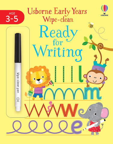 Early Years Wipe - Clean Ready for Writing - Paperback