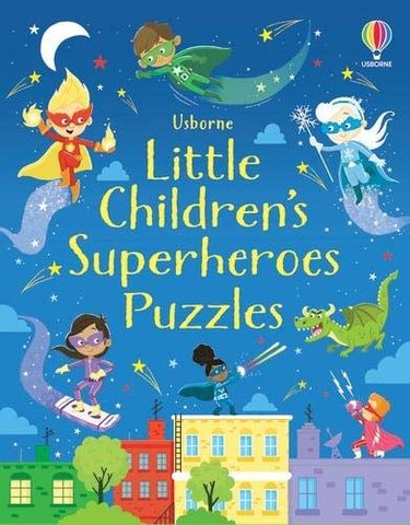 Little Children's Superheroes Puzzles  - Paperback
