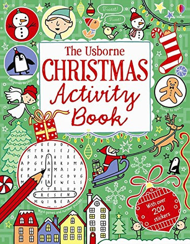 Christmas Activity Book - Paperback